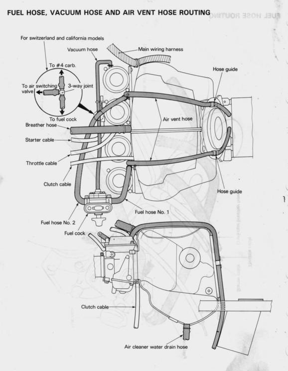 suzuki katana 750 fuel line diagram